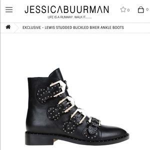 Jessica Buurman Givenchy studded boots